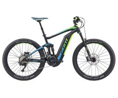GIANT FULL-E+ 1 BLACK/BLUE/GREEN 2017
