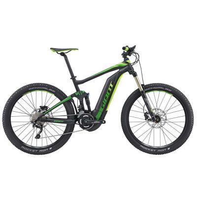 GIANT FULL-E+ 2 500WH BLACK/GREEN 2017
