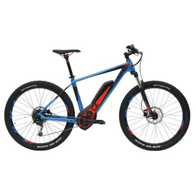 BULLS SIX50 E1 CX blau/schwarz matt 27,5 Zoll E-Bike / Herren E-MTB 2018
